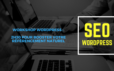 Workshop WordPress : 2h30 pour booster son référencement naturel